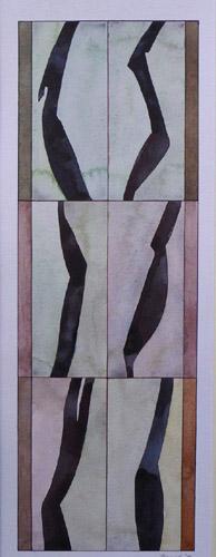 Rhythm, 2008, Watercolor, 20x60 cm