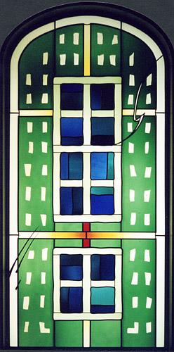 Meditation Room, Sana Clinics, Duisburg, 2002, approx. 1,30m x 2,70m (Derix-Kevelaer)